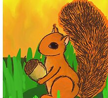 Squirrel by Helenave