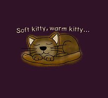 Soft kitty, warm kitty... by Helenave