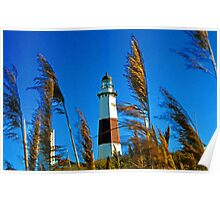 """Montauk Point Lighthouse, NY "" Poster"