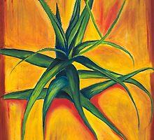Garden Series: Aloe Vera by NightSkyArtCo