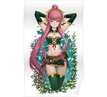 Sexy Fantasy Elf Girl Poster