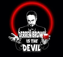 Derren Brown - Devil by CrudeKunst