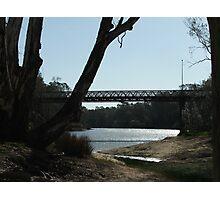 """bridge over the murray river at corowa"" Photographic Print"