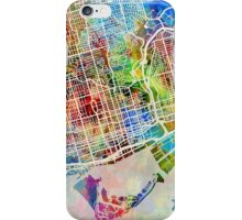 Toronto Street Map iPhone Case/Skin