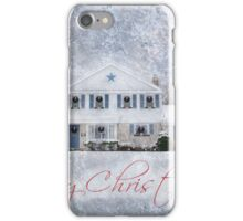 Wintry Holiday - Merry Christmas iPhone Case/Skin
