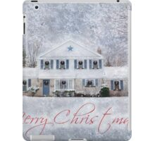 Wintry Holiday - Merry Christmas iPad Case/Skin