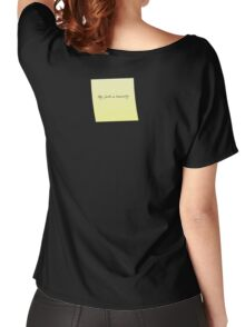 My faith in humanity Women's Relaxed Fit T-Shirt