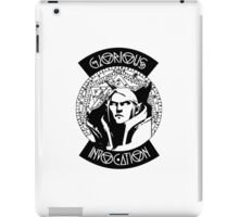 Knowledge is power iPad Case/Skin