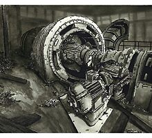 Abandoned Factory Machinery - www.jbjon.com by Jonathan Baldock
