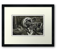 Abandoned Factory Machinery - www.jbjon.com Framed Print