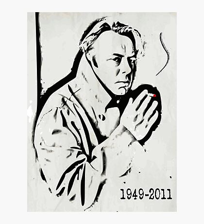 Christopher Hitchens Photographic Print