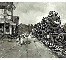 Georgetown Canada Train Station - www.jbjon.com by Jonathan Baldock