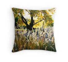 Autumn Backlight Throw Pillow