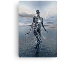 Transcension By Lightning Canvas Print