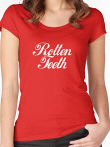 Rotten Teeth Women's Fitted Scoop T-Shirt