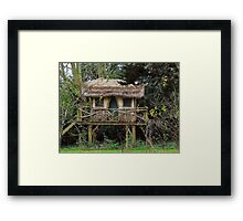 A Little Fairy Tale House Framed Print