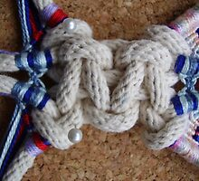 Cavandoli Macrame sample by Keith Russell