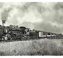 Old Steam Train - www.jbjon.com by Jonathan Baldock