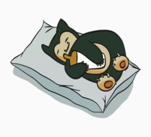 Sleeping Snorlax Kids Clothes