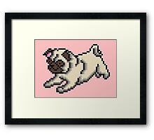 PUG - PUPPY SERIES Framed Print