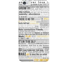 Breakthrough Cocktail Living Creed 1.0 iPhone Case/Skin