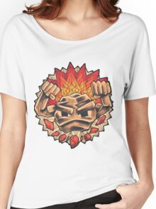 Geodude` Women's Relaxed Fit T-Shirt