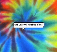 Um, Ur Not Mamrie Hart by Daniel Nicholson