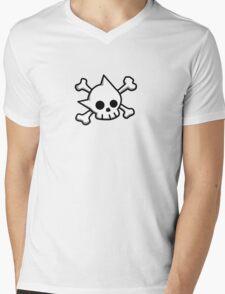 Astro Skull Mens V-Neck T-Shirt