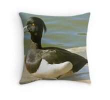 A Tufted Duck Throw Pillow