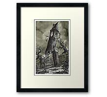 Clock Tower - www.jbjon.com Framed Print