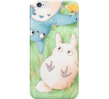 Totoro Lazy Day ! [UltraHD] iPhone Case/Skin