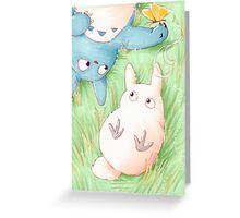Totoro Lazy Day ! [UltraHD] Greeting Card