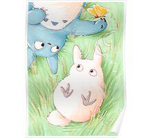 Totoro Lazy Day ! [UltraHD] Poster