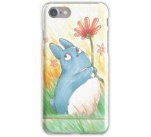 My litle blue Totoro ! [UltraHD] iPhone Case/Skin
