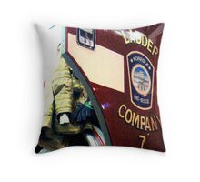 Ladder Company 7 Throw Pillow