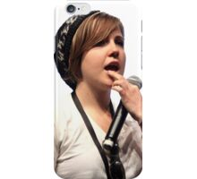 Hannah Hart, Mouth Open Wide iPhone Case/Skin