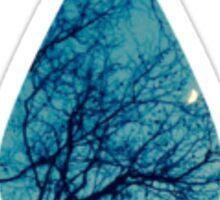 Rain-Moon Sticker