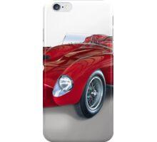 1958 Ferrari 250GT Testa Rossa V 'Studio' iPhone Case/Skin