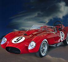 1958 Ferrari 250GT Testa Rossa V by DaveKoontz