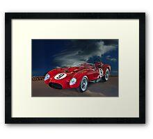1958 Ferrari 250GT Testa Rossa V Framed Print