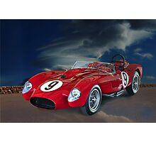 1958 Ferrari 250GT Testa Rossa V Photographic Print