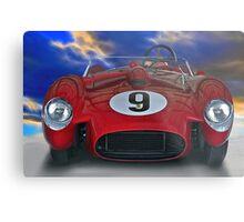 1958 Ferrari 250GT Testa Rossa I 'Head On' Metal Print