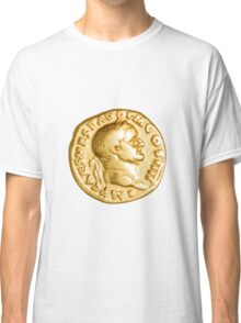 The Emperor and Nike. Roman gold coin  Classic T-Shirt