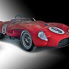 1958 Ferrari 250GT Testa Rossa III 'Studio' by DaveKoontz