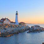 Portland Head Light - Portland Maine by Howard Simpson