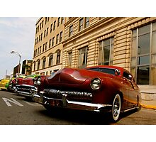 Low Riders Right Down the Line Photographic Print