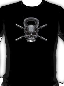 Kettlebell Crossed Barbells T-Shirt