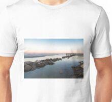 Seawall at Dusk Unisex T-Shirt