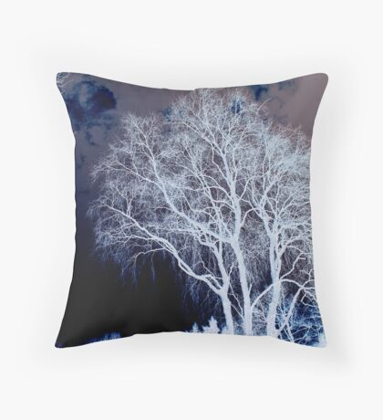 The Liver Tree Throw Pillow