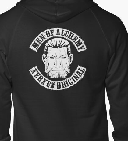 Men of Alchemy - Xerxes Original v2 Zipped Hoodie